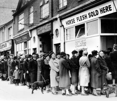 World War II food lines